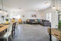 עיצוב הסלון של לימור ואלעד