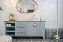 עיצוב חדרי האמבטיות של לימור ואלעד