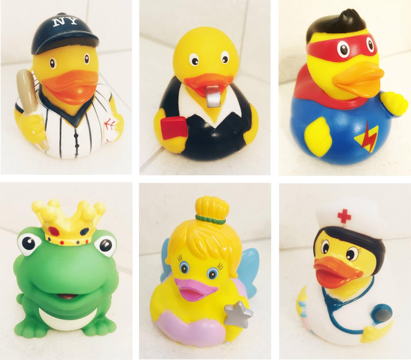 ברווזים לאמבטיה