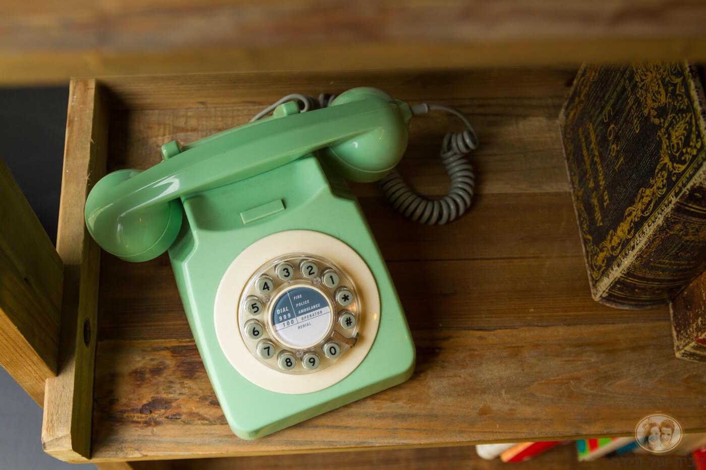 טלפון חוגה רטרו