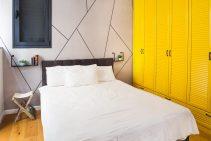 חדר שינה מעוצב של מיקה ויפתח