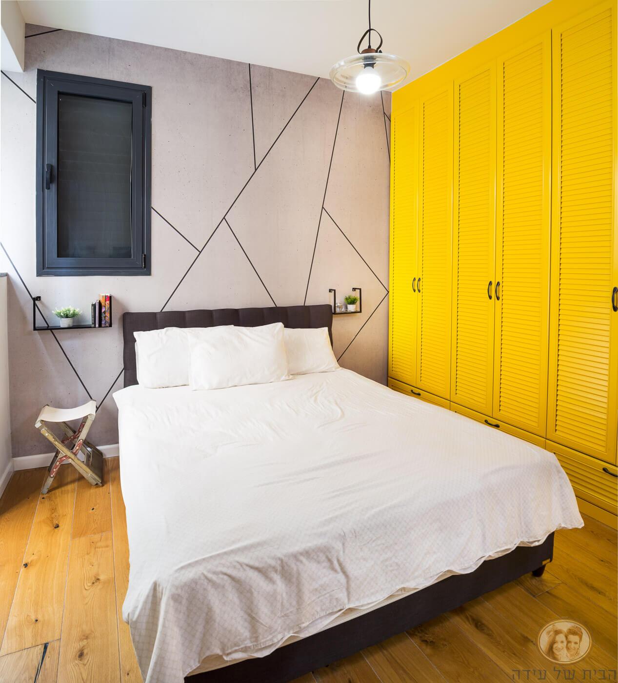 עיצוב חדר שינה בסגנון מנימלסטי