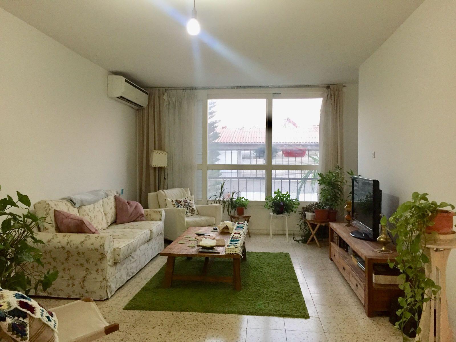 בית עם צמחים