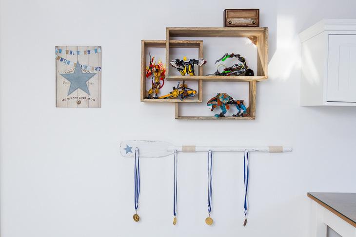 דרוציה על קיר לחדרי בנים