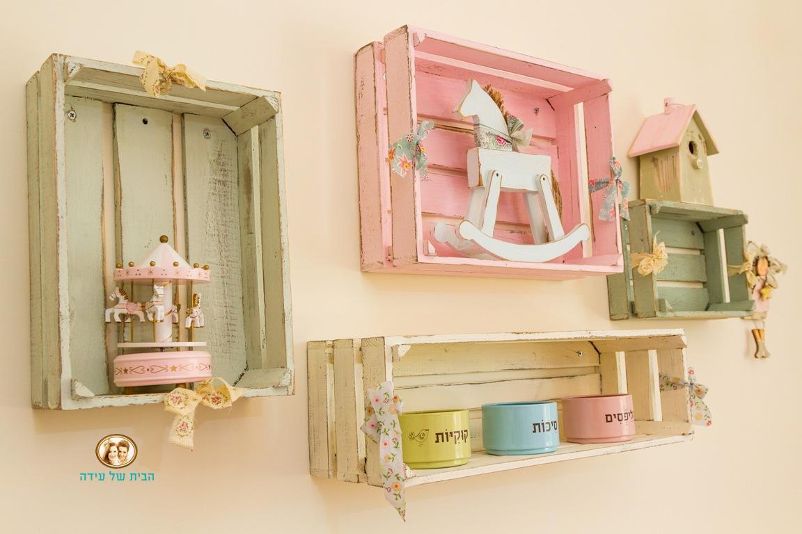 עיצוב חדרי בנות
