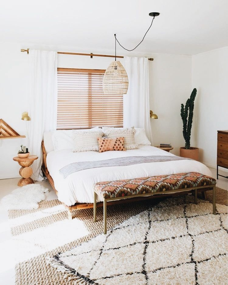 שטיח ברבר בחדר שינה