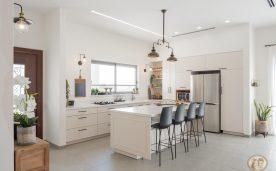 תאורה במטבח של ליפז ואורי