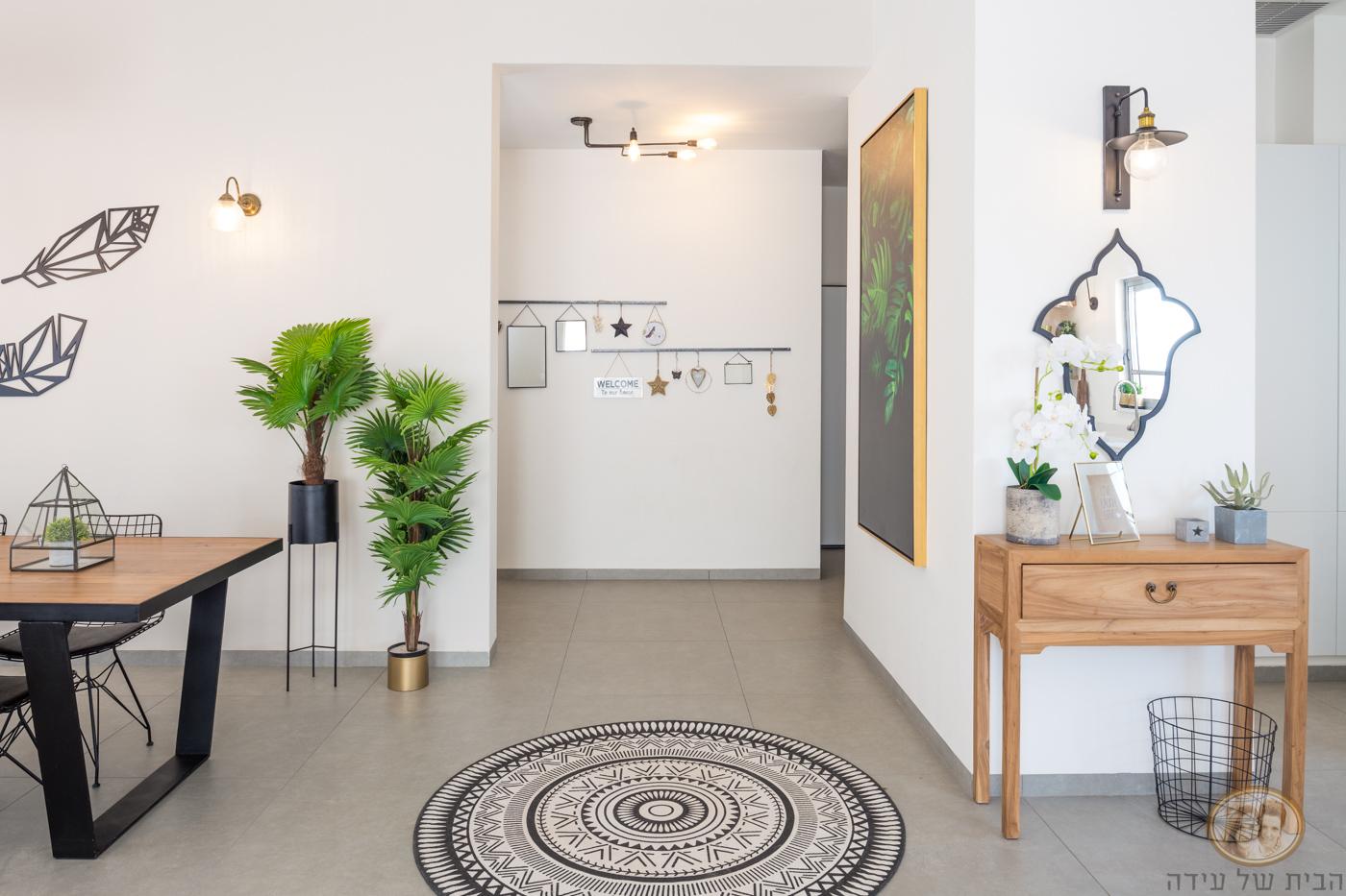 עיצוב מבואת חדרים
