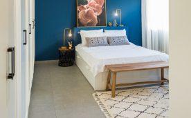 חדר שינה מעוצב של ליפז ואורי
