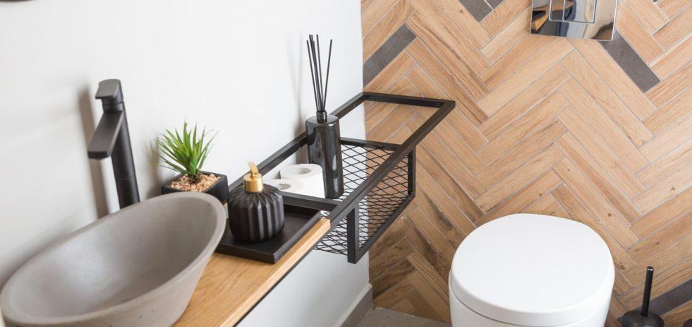 עיצוב חדר שירותים