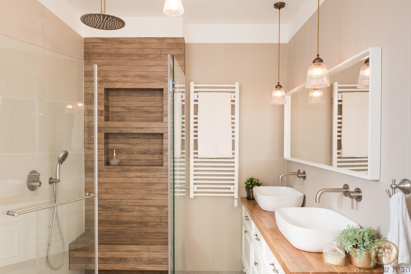 עיצוב אמבטיה באווירת ספא