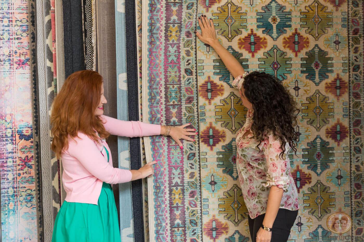 בחירת והתאמת שטיחים לבית
