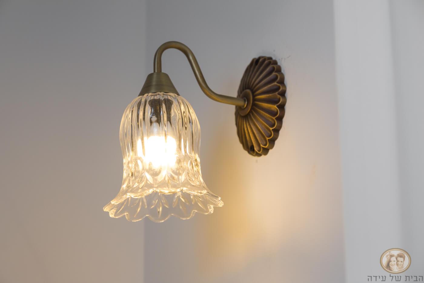 תאורה קירית לבית