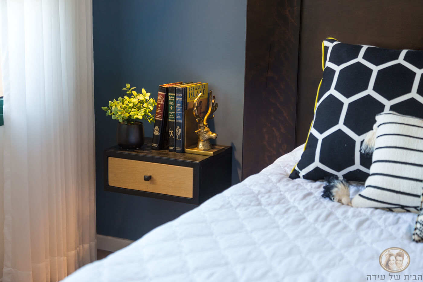 עיצוב חדר שינה חם