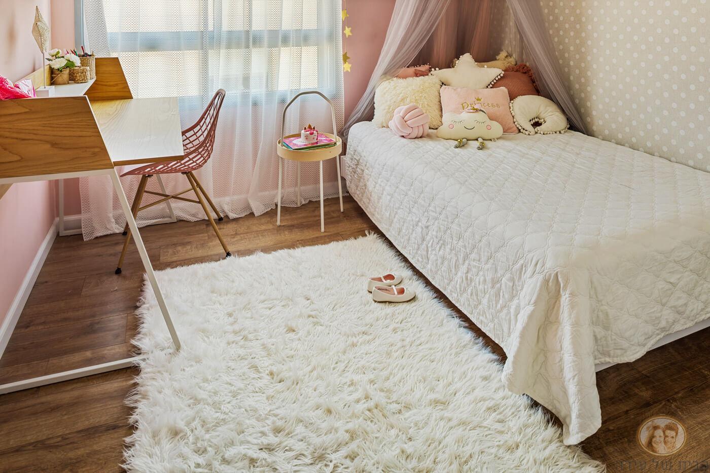 עיצוב חדר נערה